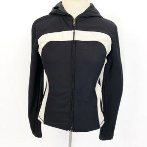 PRADA Athletic Jacket Zip Up Black Size medium